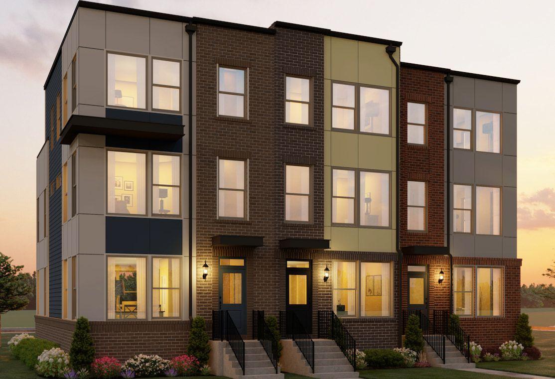 单亲家庭 为 销售 在 North Quarter - Ashton 5120 Longstone Way North Bethesda, Maryland 20852 United States