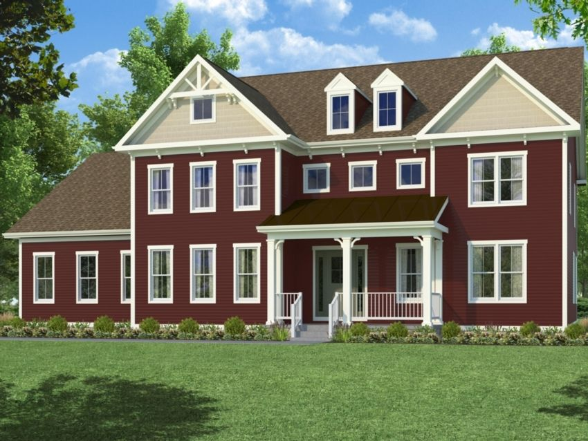 Single Family for Active at Willowsford Grant - Hamilton 41763 Ashmeadow Ct Ashburn, Virginia 20148 United States