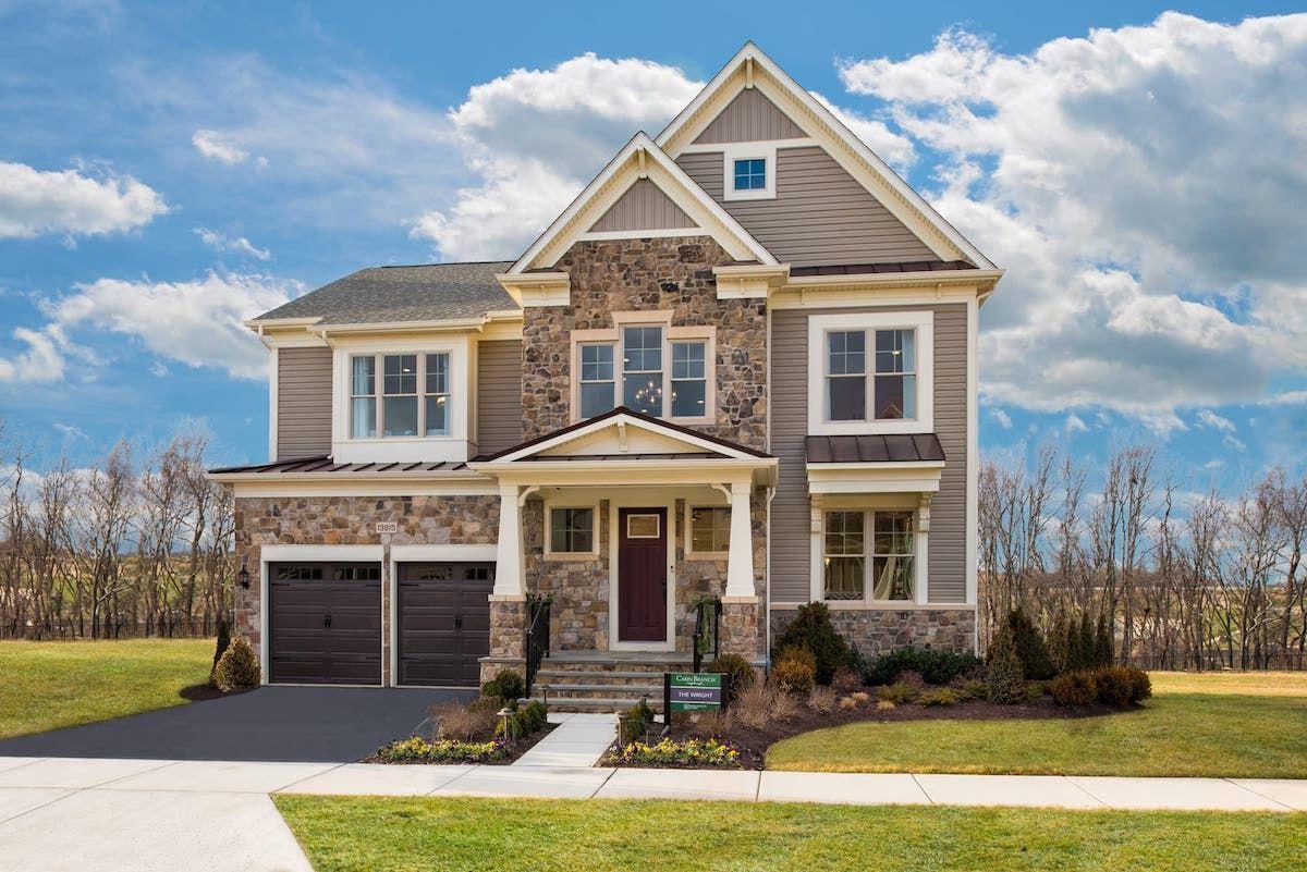 单亲家庭 为 销售 在 Cabin Branch Estate Series - Wright 13915 Stilt Street Clarksburg, Maryland 20871 United States