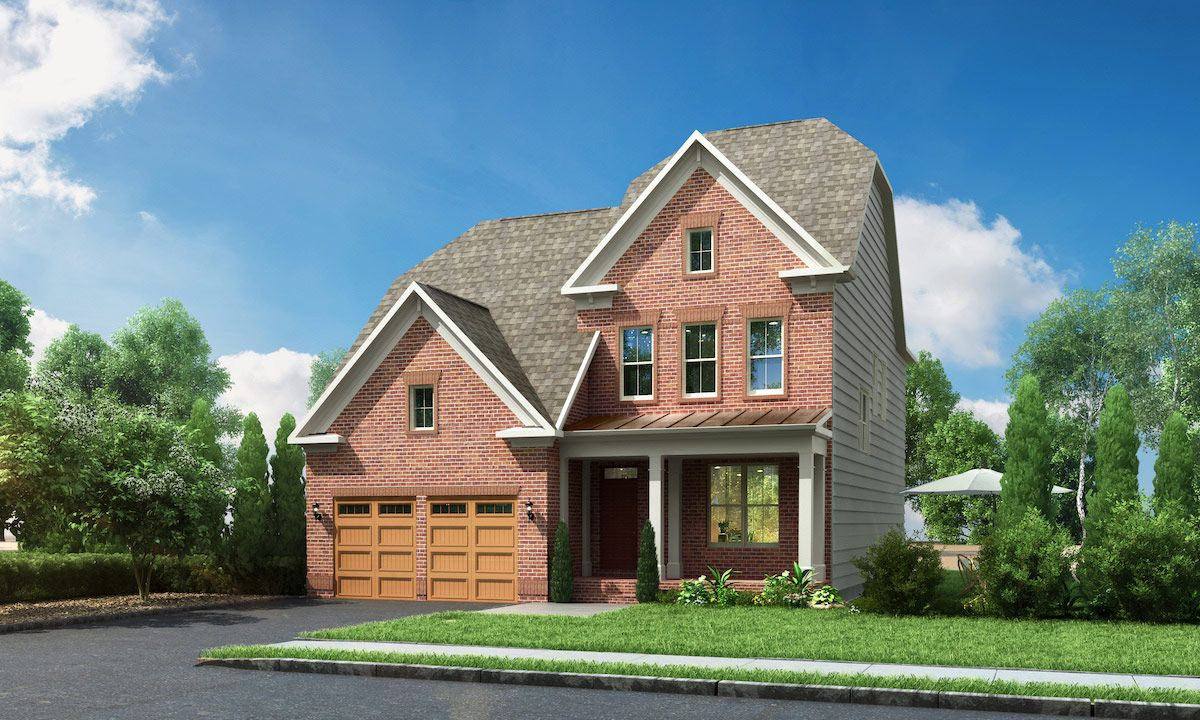 Single Family for Active at Cabin Branch Estate Series - Fuller 13915 Stilt Street Clarksburg, Maryland 20871 United States
