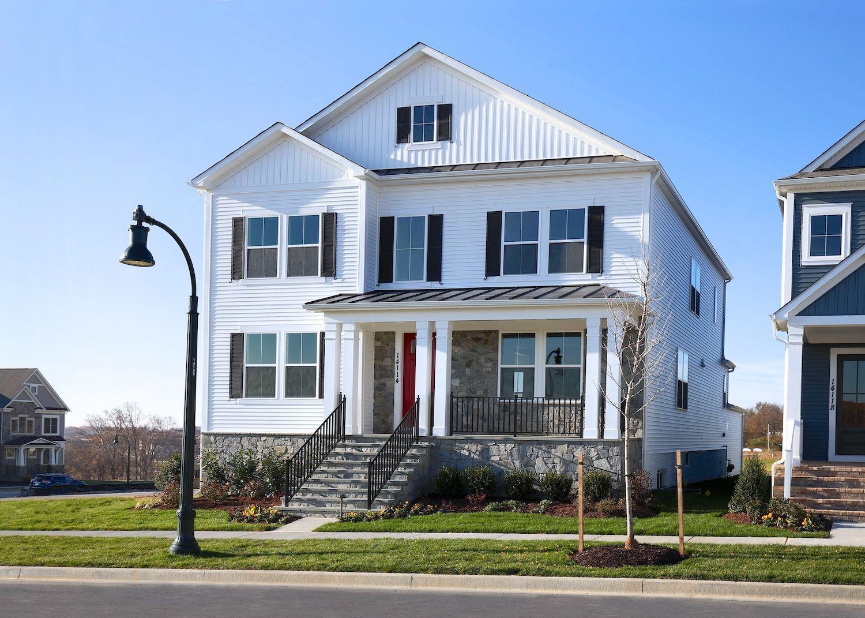 单亲家庭 为 销售 在 The Villages At Cabin Branch - Providence 14134 Dunlin Street Clarksburg, Maryland 20871 United States