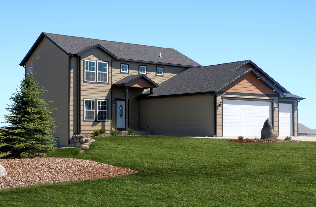 Windsong custom homes windsong country estates johnson for Nd home builders