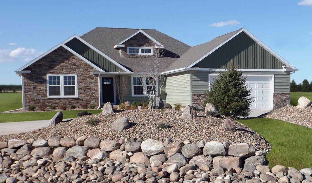 Windsong custom homes missouri meadows rainier xl ranch for Nd home builders