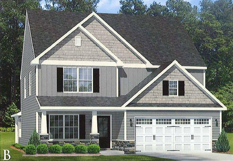 Single Family for Active at Permeta Branch - Bailey Permeta Drive Sneads Ferry, North Carolina 28460 United States