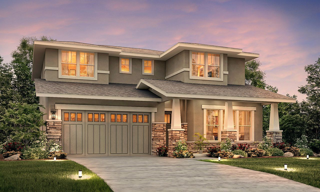 Single Family for Sale at Fiore Estates - The Piazza Plan 908 Rose Avenue Modesto, California 95355 United States