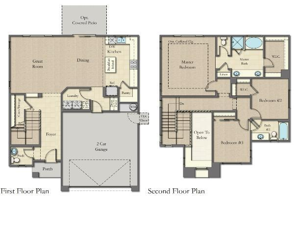 Woodside Homes Floor Plans laguna at tierra santawoodside homes - barbara maguire