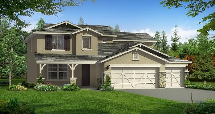 Woodside homes monticello acadia 1239715 bakersfield for Bakersfield new home builders