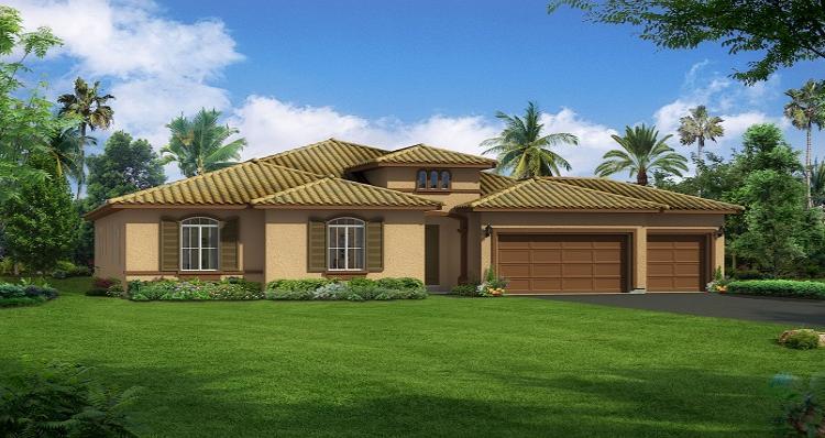 Single Family for Sale at Monticello - Ponderosa 8912 Claro De Luna Dr. Bakersfield, California 93314 United States
