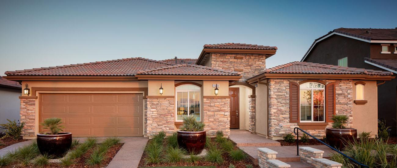 Northampton new homes in bakersfield ca by woodside homes for Builders in bakersfield