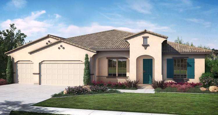 Single Family for Active at Spanish Oaks - Andalusia 3031 Cape Canyon Avenue Tulare, California 93274 United States