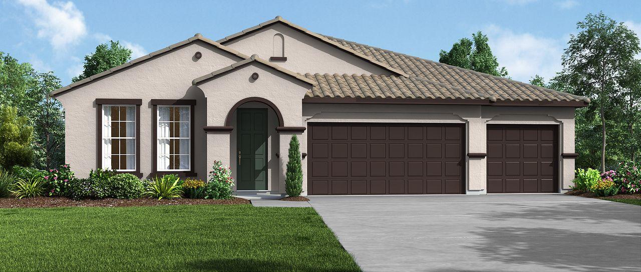 Single Family for Sale at Black Oaks - Olympic 3321 N. Elm Street Visalia, California 93291 United States