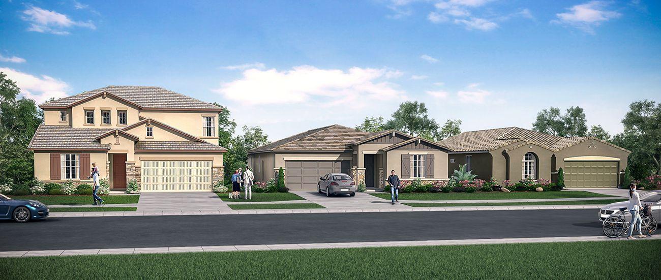 Single Family for Sale at Berryessa _Lot 10 1036 Lindsay Lane Clovis, California 93619 United States