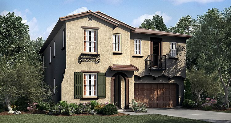Single Family for Sale at Sunrise At The Harvest - Residence Three 8814 Citrus Street Chino, California 91708 United States