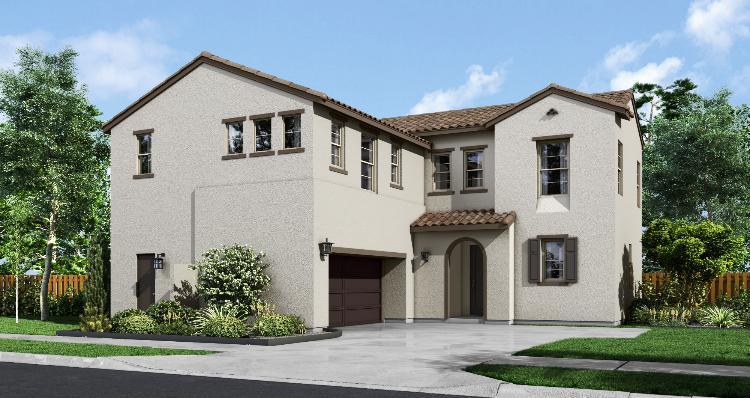 单亲家庭 为 销售 在 Nova At Bedford - Residence Two 4115 Cameron Way #105 Corona, California 92883 United States