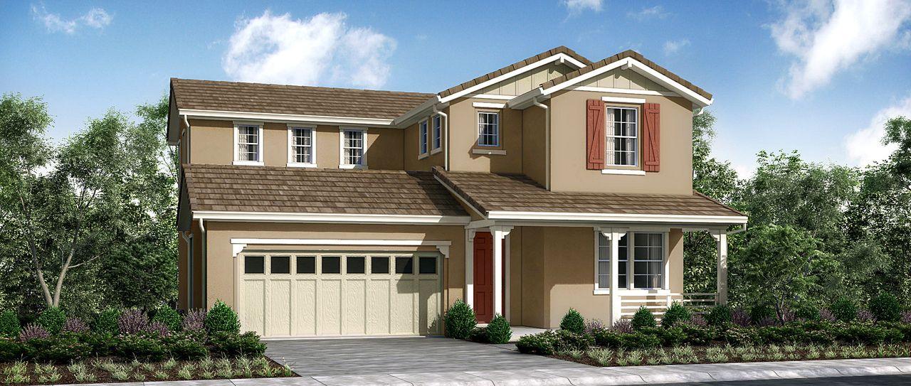 Single Family for Sale at Tandridge At Brighton Landing - Plan 2 707 Sunflower Street Vacaville, California 95687 United States