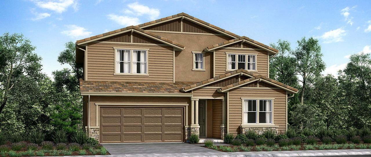 Single Family for Sale at Tandridge At Brighton Landing - Plan 4 707 Sunflower Street Vacaville, California 95687 United States