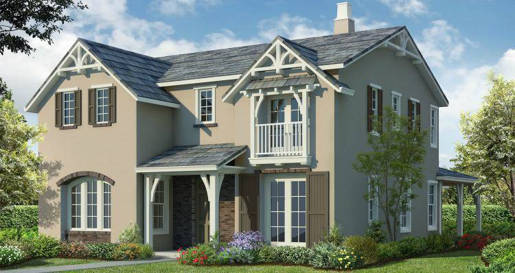 Brand New Homes Mountain House Plan