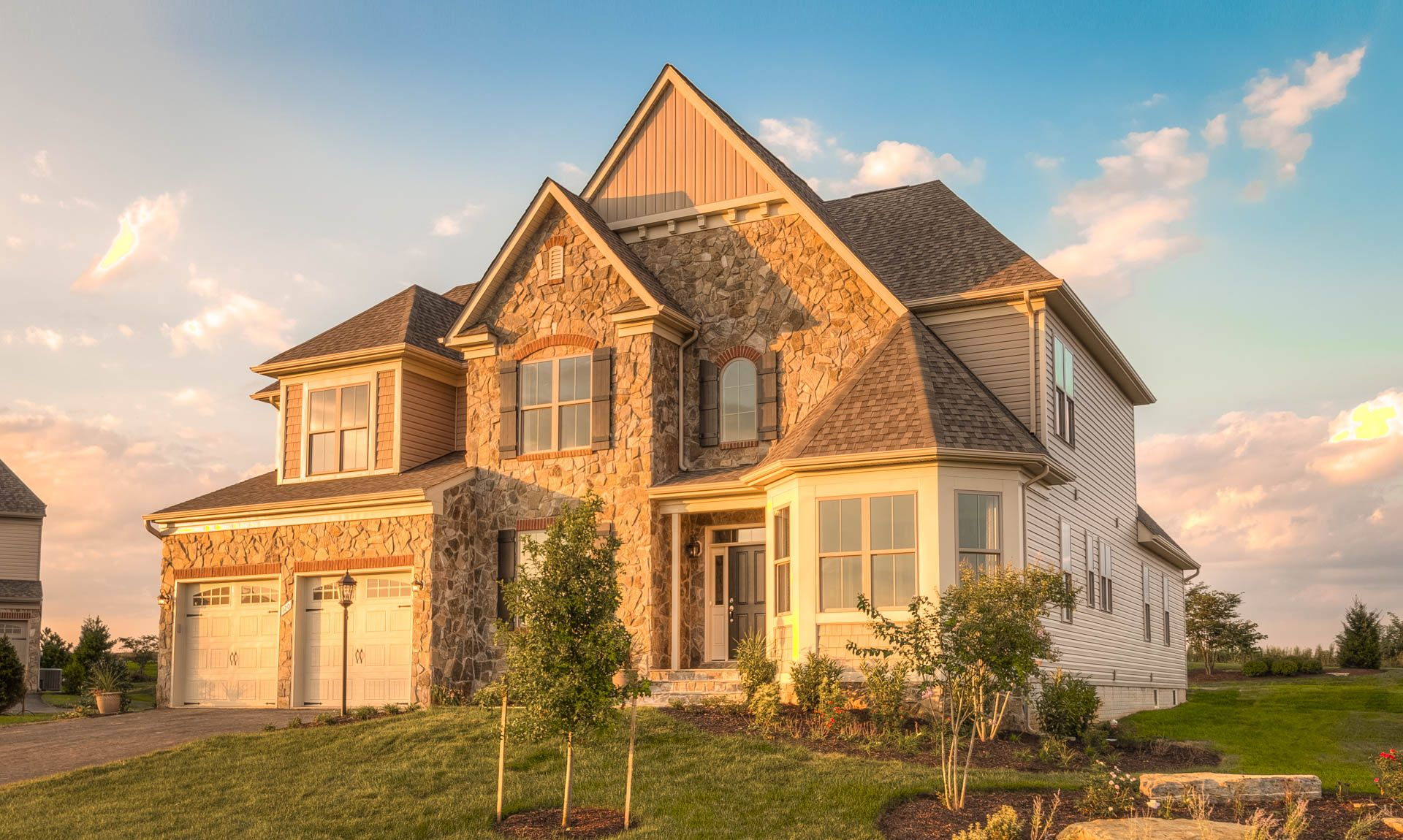 Single Family for Active at The Mount Vernon Collection At Brentwood Springs - The Balmoral 17289 Creekside Green Place Round Hill, Virginia 20141 United States